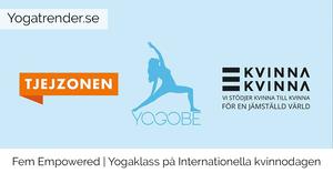Fem Empowered - Yoga på Internationella kvinnodagen