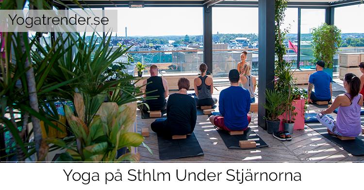 Yoga på Sthlm under stjärnorna