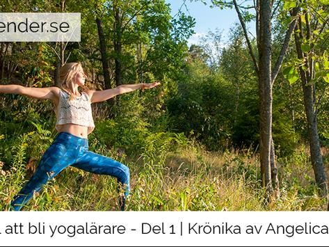 Artikelserie: Vägen till att bli yogalärare - Del 1