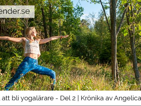 Artikelserie: Vägen till att bli yogalärare - Del 2