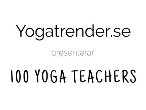 Yogatrender + 100 Yoga Teachers