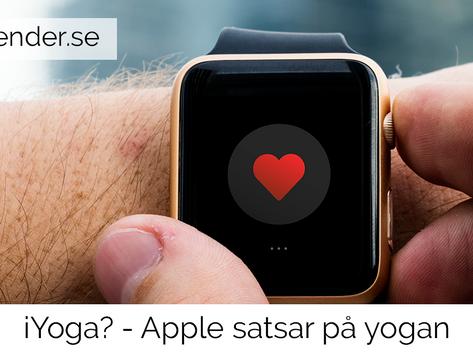 iYoga? - Apple satsar på yogan