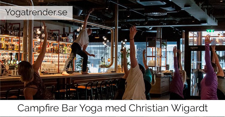 Campfire Bar Yoga med Christian Wigardt