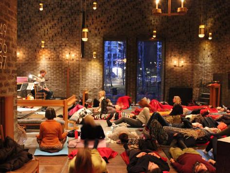 Gratis Yoga & Meditation i Markuskyrkan