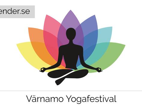 Värnamo Yogafestival 24 mars 2018