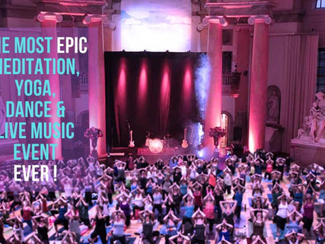 """""""The Most Epic Meditation, Yoga, Dance & Live Music Event Ever!"""""""