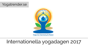 Internationella yogadagen 2017