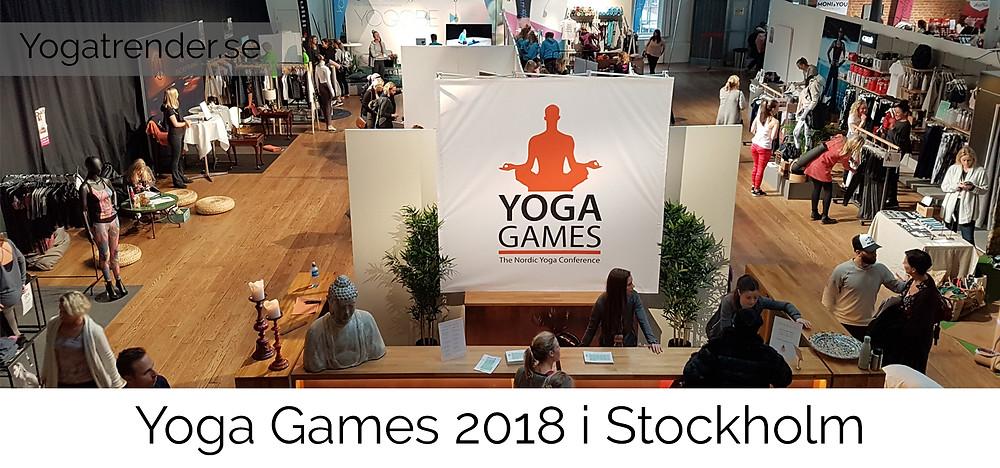 Yoga Games 2018 i Stockholm