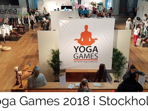 Tre insikter från Yoga Games 2018 i Stockholm