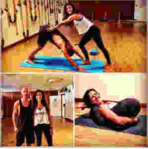 Christian Wigardt provar Rocket yoga i Rio