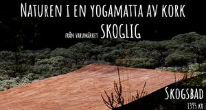 Yogamatta i kork från Skoglig