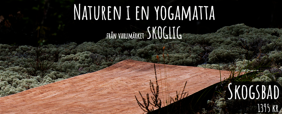 Yogamatta i kork från varumärket Skoglig