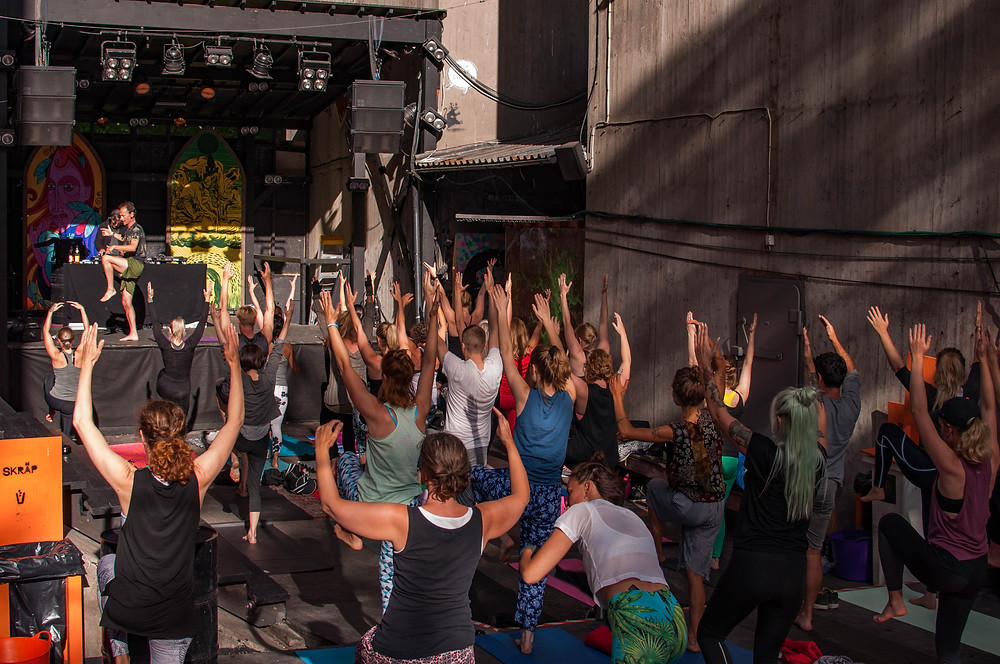 Yoga Dj Sessions 5 aug 2017