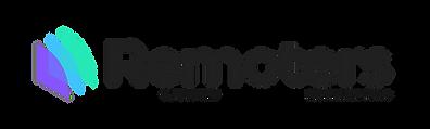 Remoters Logo Black Transprent BG.png