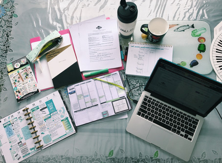 My Top 3 Tips to Becoming & Staying Productive