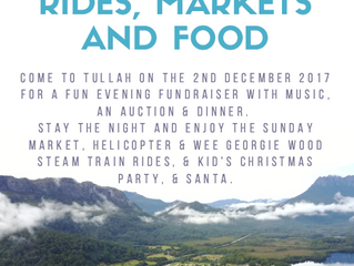 2017 Tullah Christmas Fundraiser, Party and Market Weekend