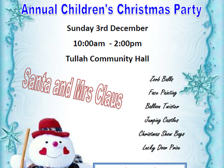 Tullah Children's Christmas Party