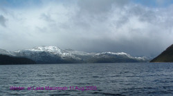Winter at lake Macintosh