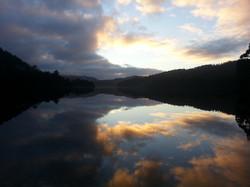 Lake Rosebery at Sunset