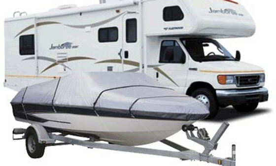 Boat or RV Storage - Per Month for Annual Contract