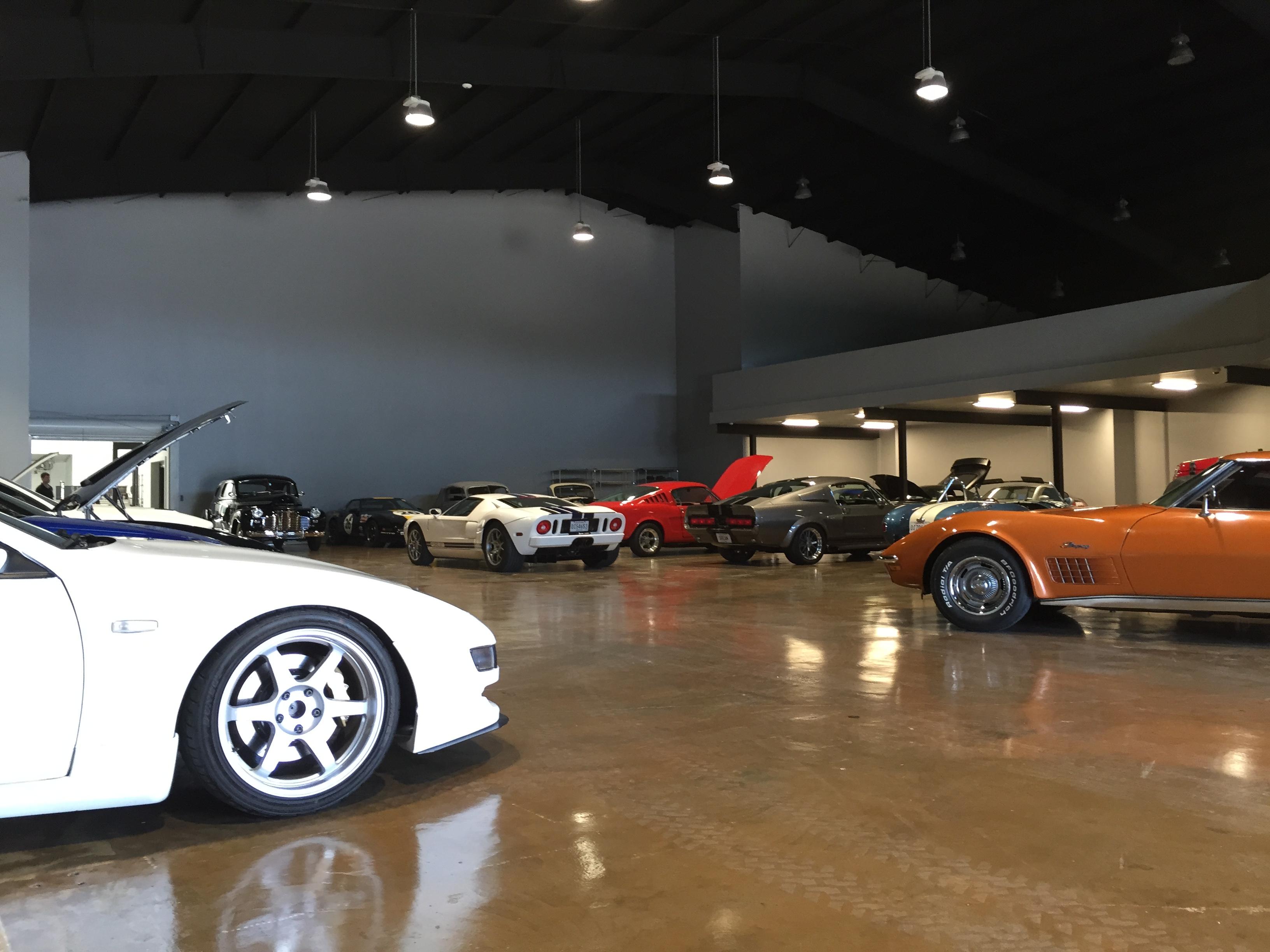 PPG Cars Auto Storage
