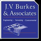 J. V. Burkes Blue Web Logo