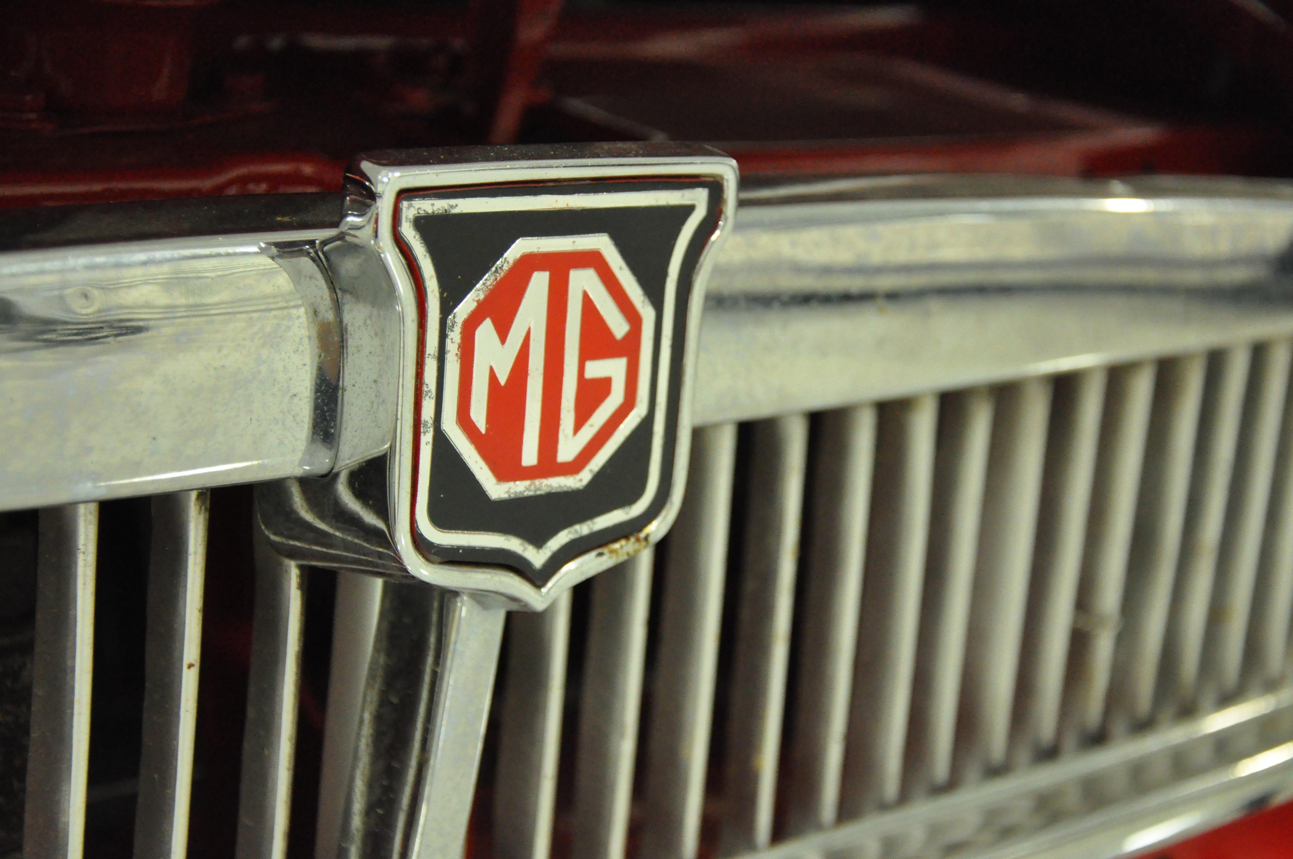 1963 MGB Racecar