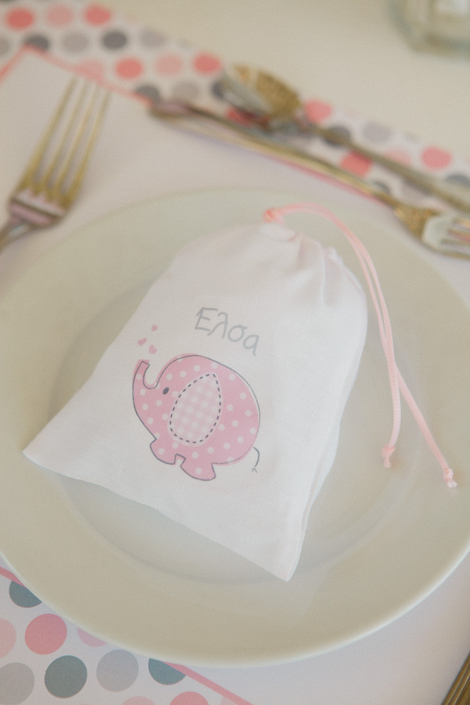 Cute pink elephant for little miss E'