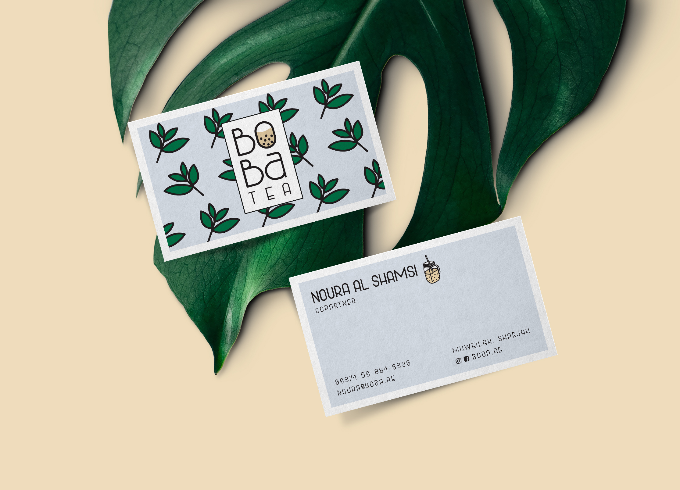 Boba Business cards