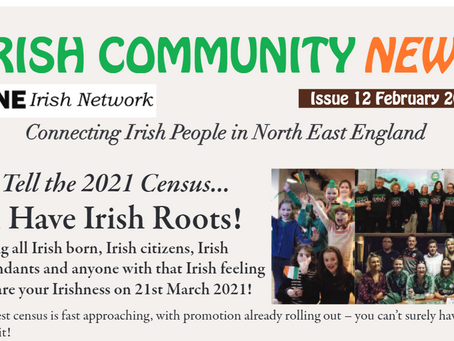 Latest Irish Community News! Feb 2021