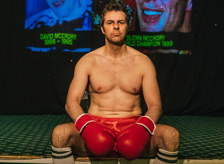 Review - Ed Waugh's Play 'Carrying David'