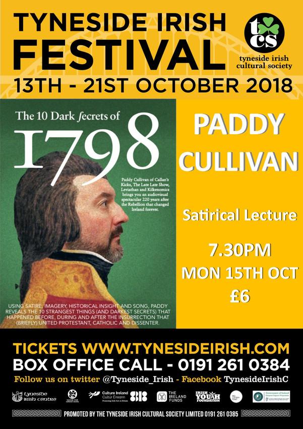 Paddy Cullivan - Satirical Lecture
