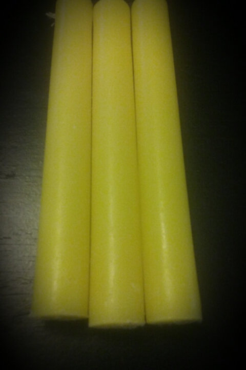 Yellow Chime Candle