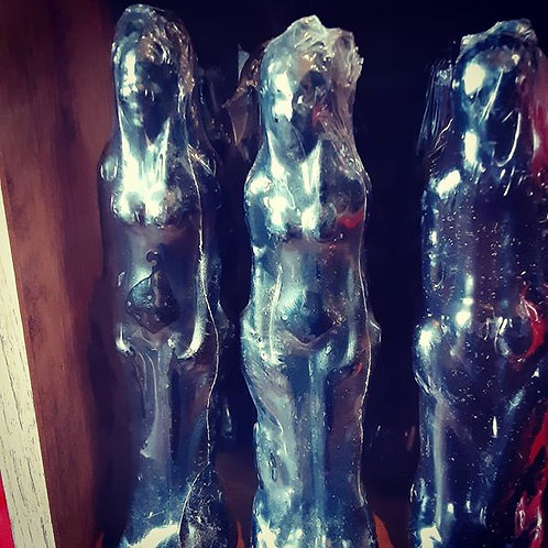 Figure Candles (Black Female)