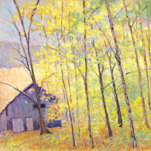 Barn at the Edge of the Woods - Signed, limited edition giclee