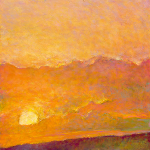 Sunset Impression - Signed, limited edition giclee