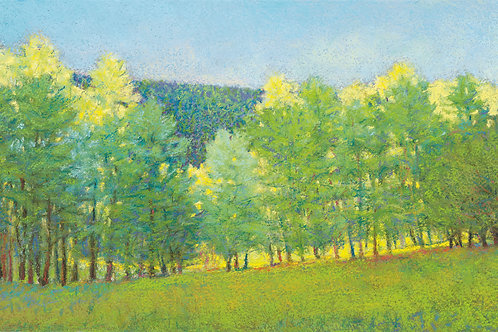All the Green Trees - Signed, limited edition giclee
