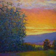 Ken Elliott Enriched Evening, Sunset #120621 40 x 40.jpg