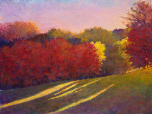 Colorful Slope- Signed, limited edition giclee