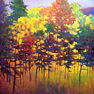 Ken Elliott Brilliant Forest oil on canv