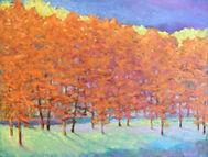 Ken Elliott Glowing Tree Line oil on canvas 30 x 40 inches.jpg