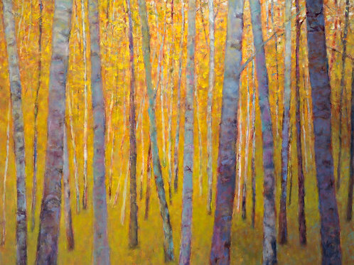 Forest Verticals - Signed, limited edition giclee