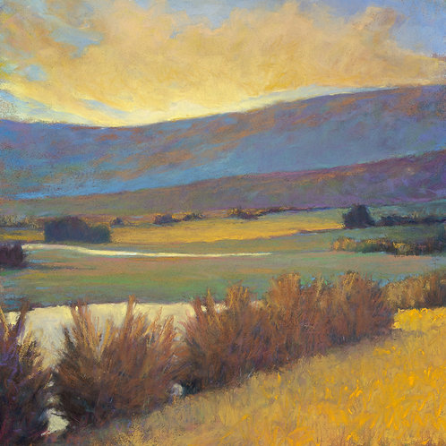 View Across the River - Signed, limited edition giclee
