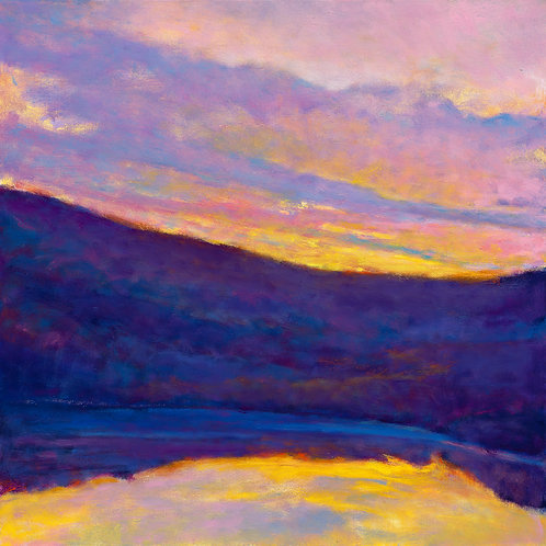 Lake Shadows - Signed, limited edition giclee