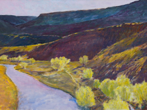 Rio Chama View - Signed, limited edition giclee
