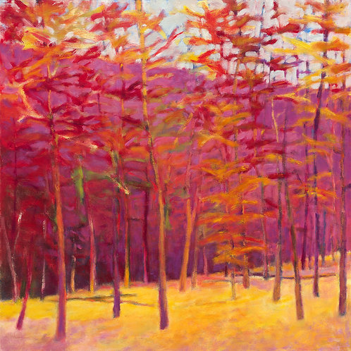 Autumn Reds - Signed, limited edition giclee