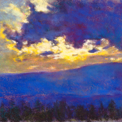 Blue Sunset - Signed, limited edition giclee