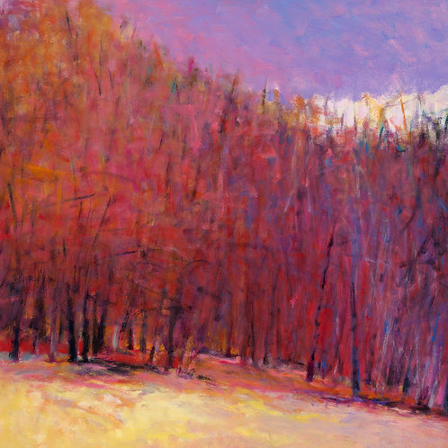 Edge of the Woods, Autumn - Signed, limited edition giclee
