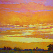 Ken Elliott Yellow to Orange Sunset 36 x 36.jpg