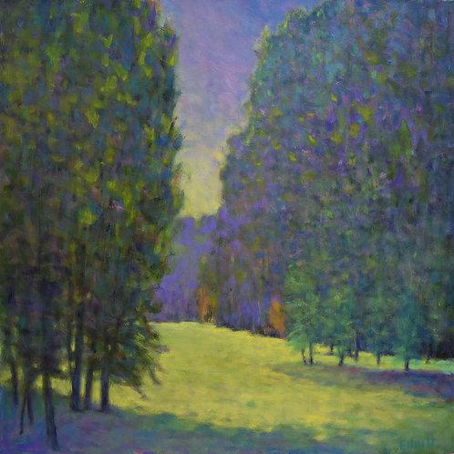 Aglow in Purple